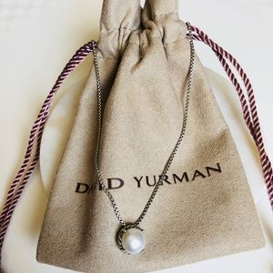 David Yurman Chatelaine Pendant with Pearl